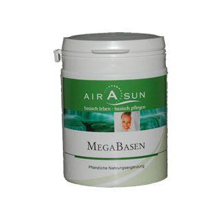 Algenpulver Megabasen Kapseln mit Spiruline und Chlorella